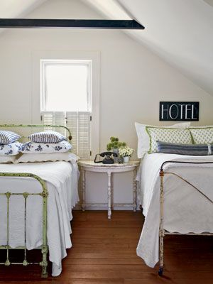 French iron beds. Old is New Again
