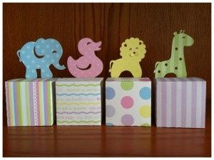 animal baby shower favor containers