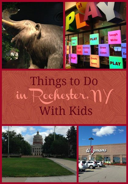 Things to do in Rochester NY with kids #travel #familytravel