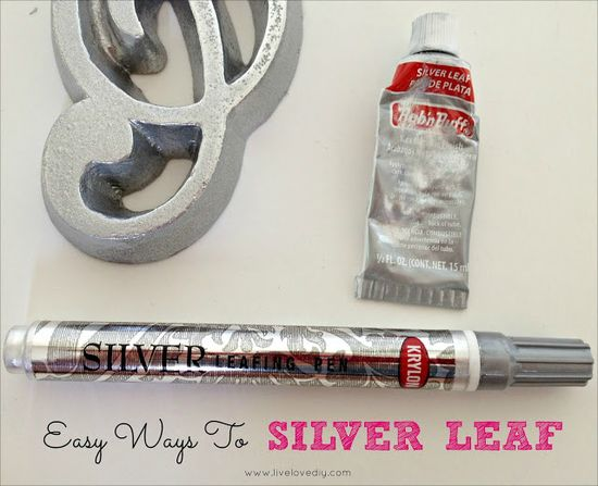 10 Paint Secrets: Easy ways to silver leaf