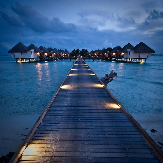 Maldives Four Seasons Resort - loved it.