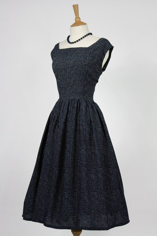 1950s retro tea dress