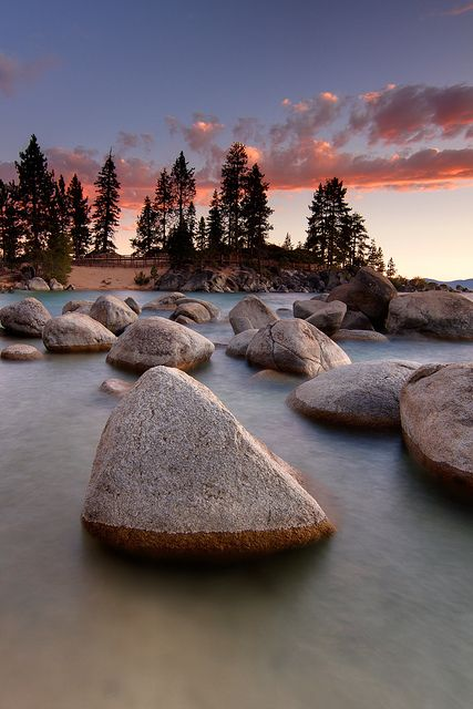 Sand Harbor,  Lake Tahoe, California & Nevada, USA.