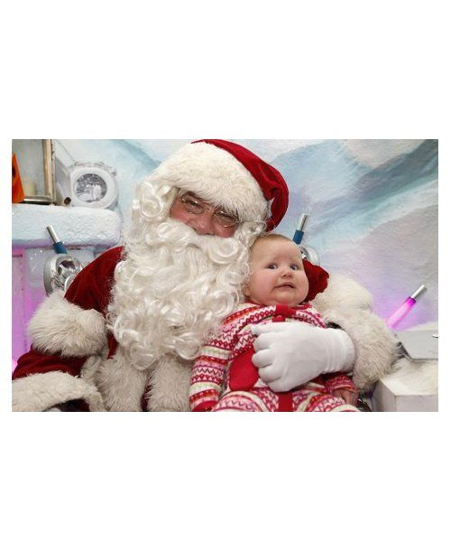 Funny Photos With Santa... we remember it well! #christmas #humor #photography