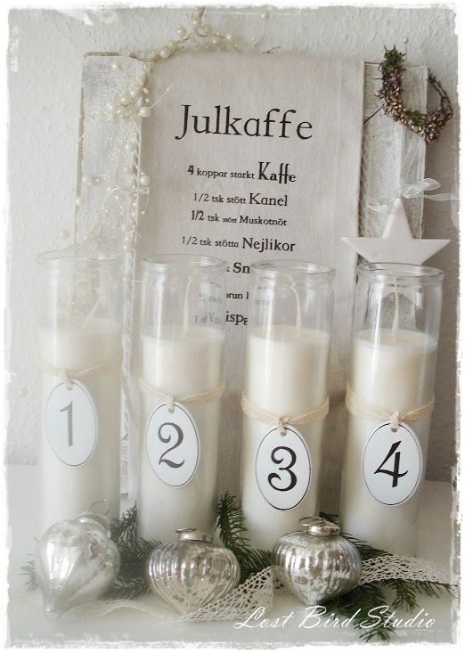 Christmas Decoration - Advent Candles