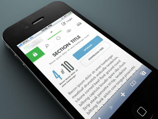 mobile UI Design6