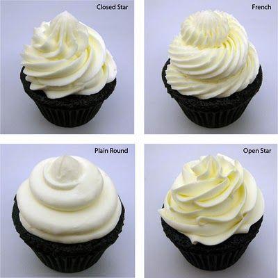 cupcake frosting tutorial.
