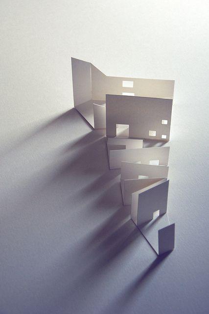 *Architecture, paper, minimalism*