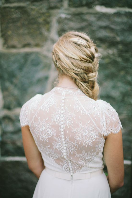 Beautiful bridal hair, braided hair, wedding hair