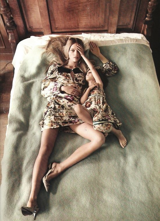 Sasha Pivovarova in Vogue Paris