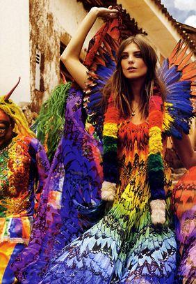 #dresscolorfully daria in color - heart d maxi! ???