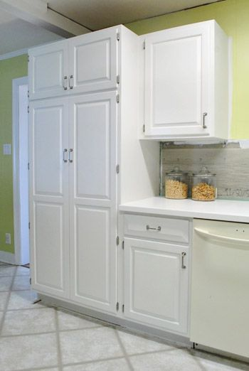 Cabinet painting tutorial