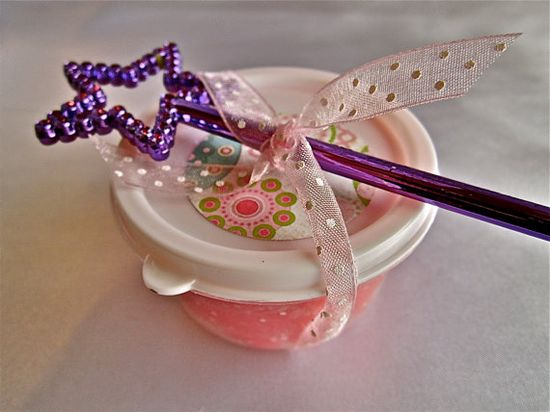 Princess Mini PLaydough Party Favors