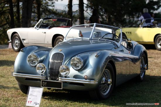 Jaguar XK120.  Now that is a sports car!