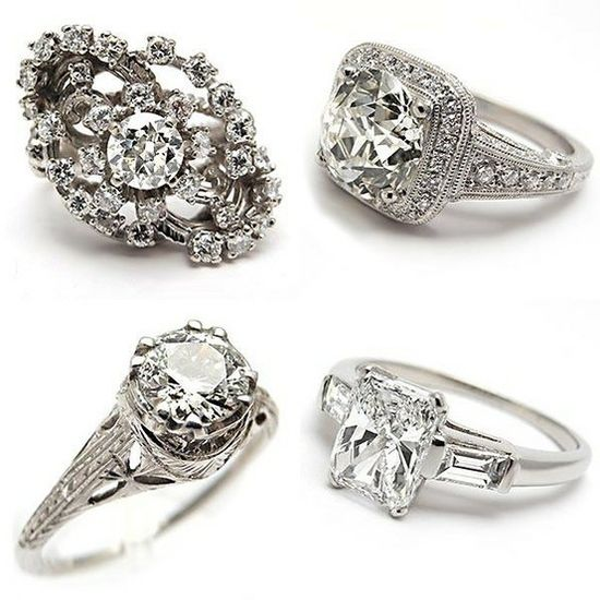 Vintage engagement rings. engagement rings sydney