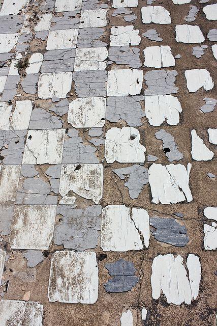 workman: thedanaann: Old Tile Floor on Flickr.