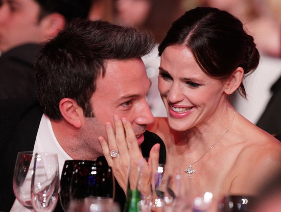 #JenniferGarner and #BenAffleck looked adorable and loved up during the 2011 Critics' Choice Awards. #cute #celebrity #couple