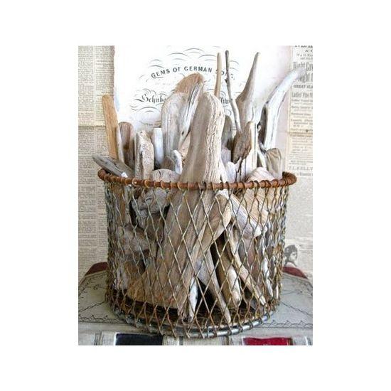 Nautical decor - start a driftwood collection?