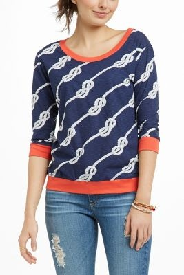 Cute nautical sweatshirt