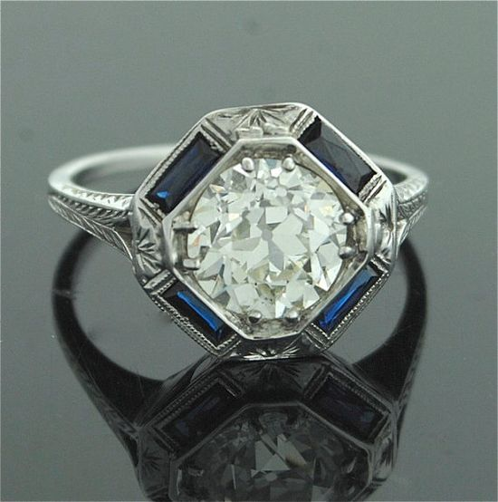 Antique engagement ring..