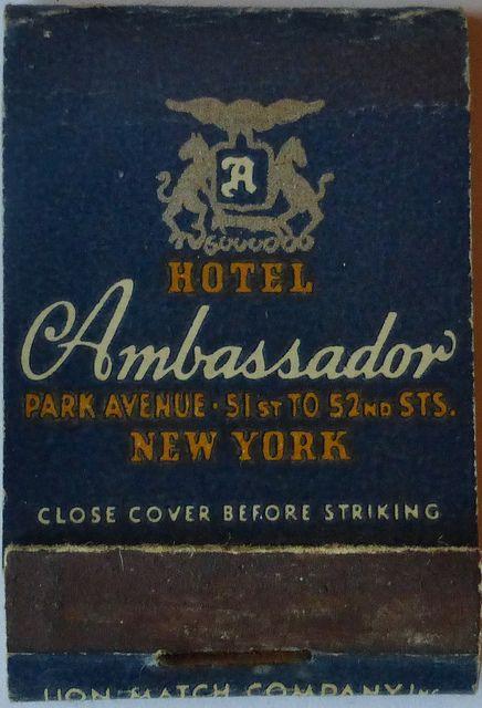 HOTEL AMBASSADOR NEW YORK CITY