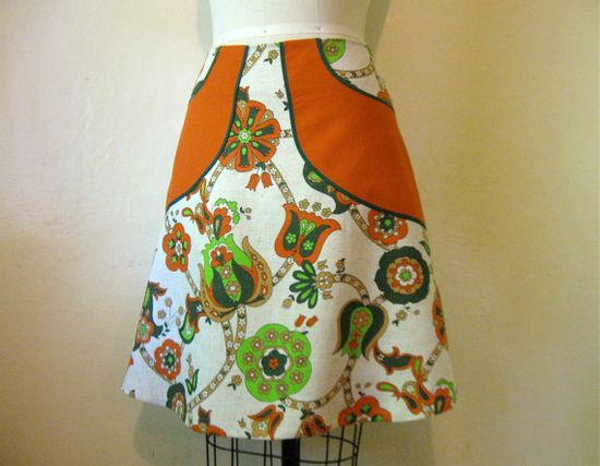 Flower Shop Girl linen skirt Sz 10 by LoveToLoveYou on Etsy, $68.00