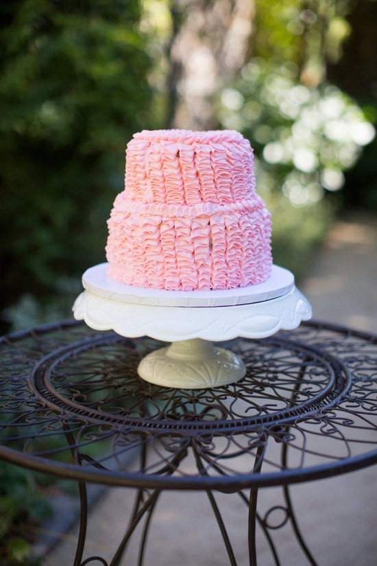 ruffle cake by thepinkboxbakingc...  Photography By / corbingurkin.com