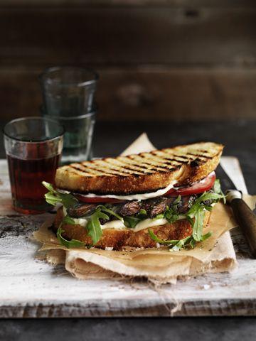 mushroom sandwich