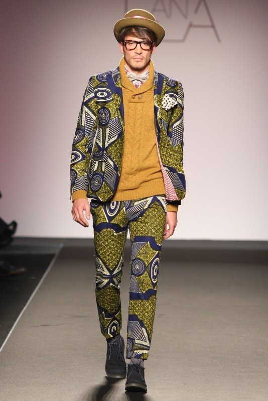 African Prints in Fashion: Mix of Textures & Prints: Stella Jean FW 13/14