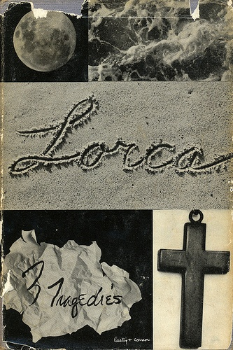 Lorca 3 Tragedies book cover by Alvin Lustig