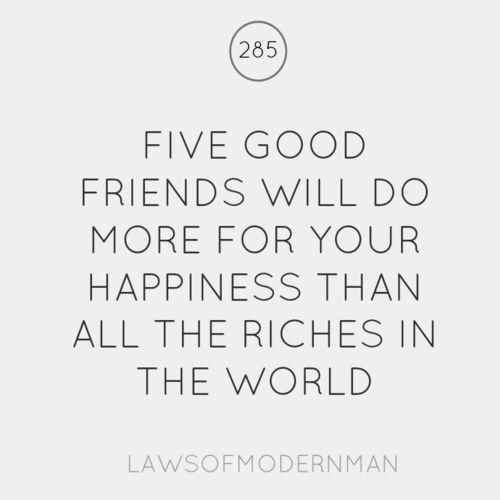 5 good friends.