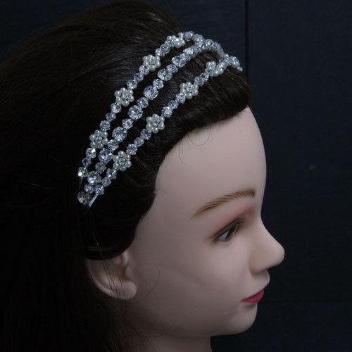 3 row sparkly headband on etsy, £79.99