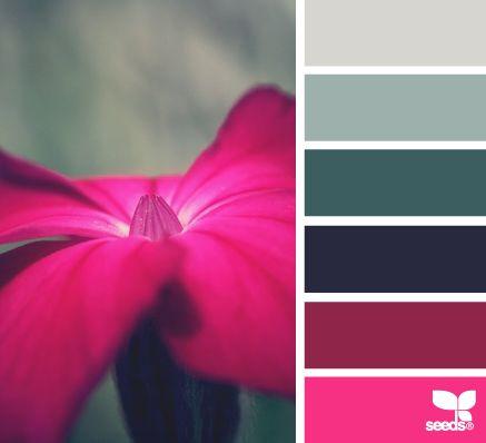 flora hues ~ Design Seeds