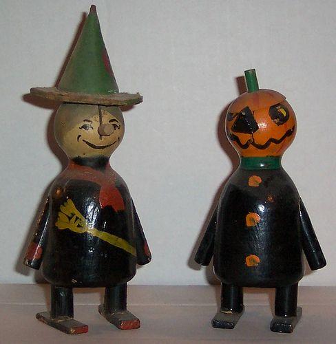 Vintage Halloween Scary Ann's.