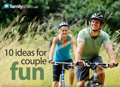 The couple that plays together stays together: 10 ideas for couple fun from FamilyShare.com @I ? My Family (FamilyShare.com).com #dating #spouse #marriage #fun