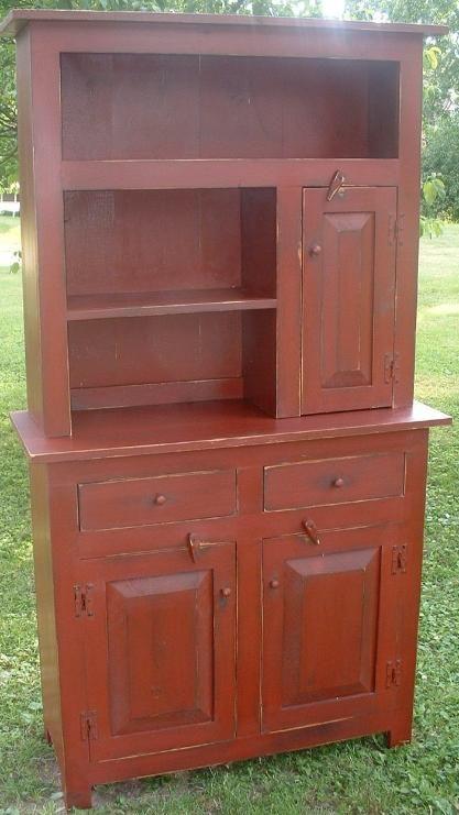 Primitive cupboard for kitchen