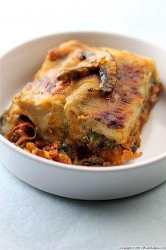 Mushroom lasagne #mushroom #meals
