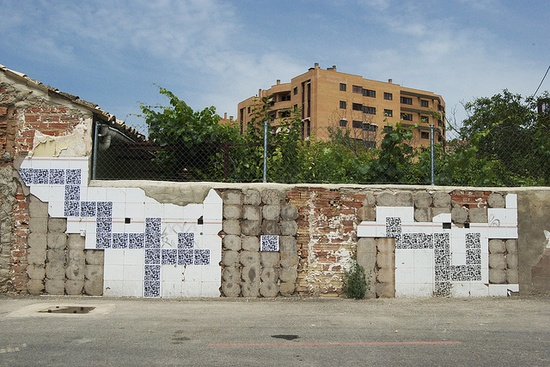 QR street art (cuenca, 2010)