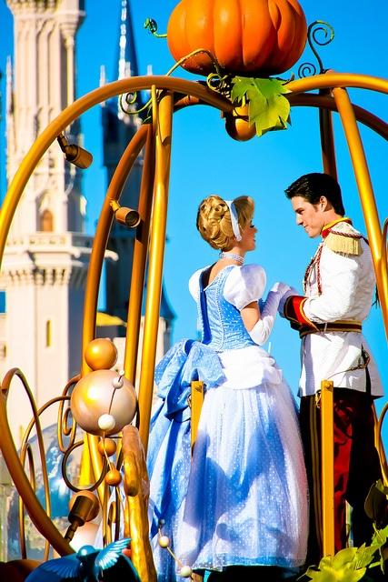 Cinderella and Prince Charming ?
