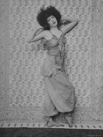 Renée Adorée - Photograph by E.O. Hoppé--star of the silents