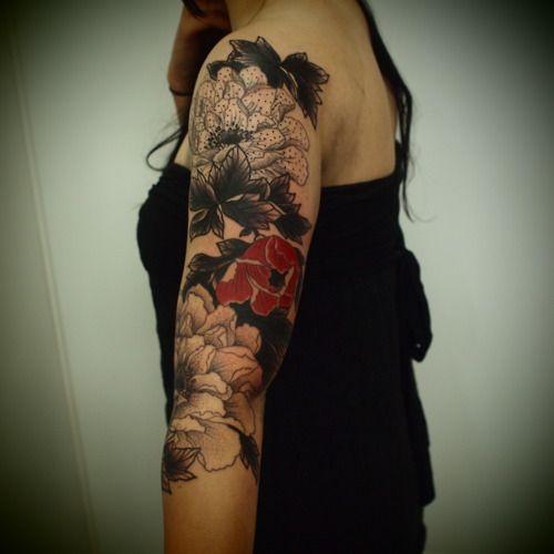 #tattoo #floral