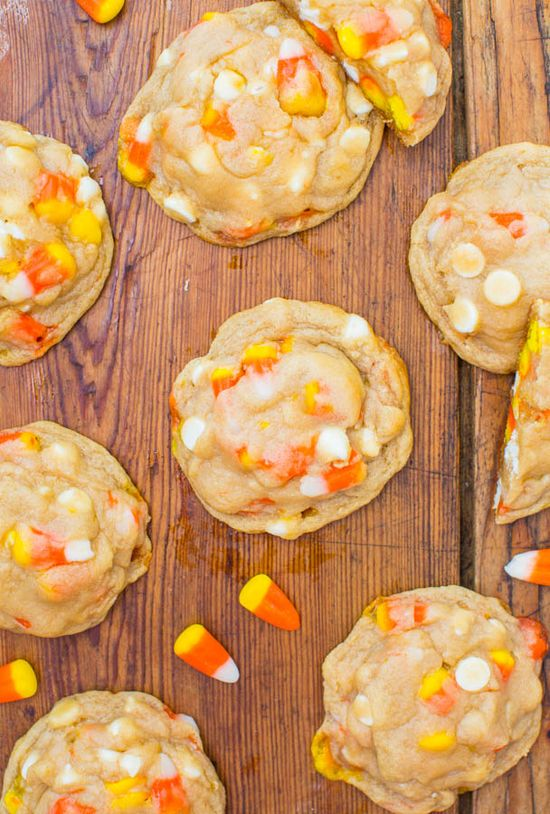 candy corn cookies.. GET OUT