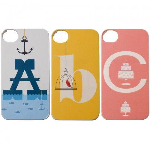 alphabet iphone cover