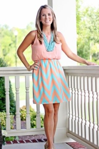 ? such a cute dress - love the necklace with it, too!