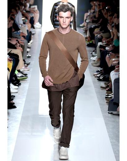 Brown - Men's Spring 2013 Fashion Trend - Milan Men's Fashion Week: Fashion Shows: GQ