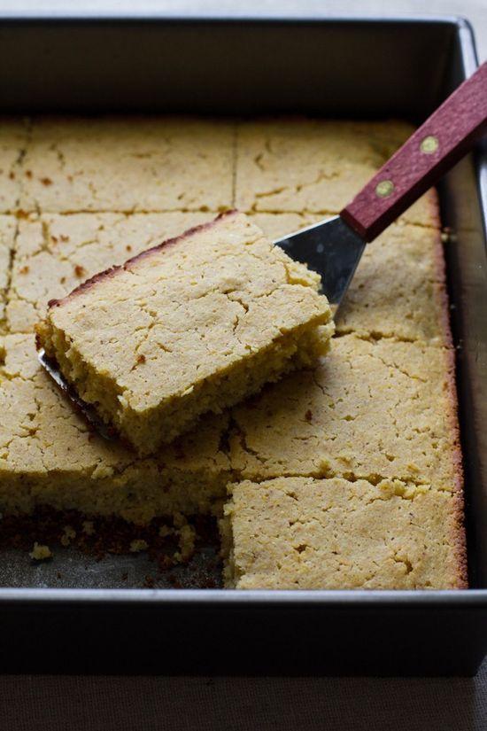 orange honey corn cake // edible perspective
