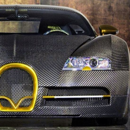 Carbonized Bugatti
