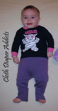 Daily Cute Fluffy Bum - Sloomb #Halloween - Cloth Diaper Addicts