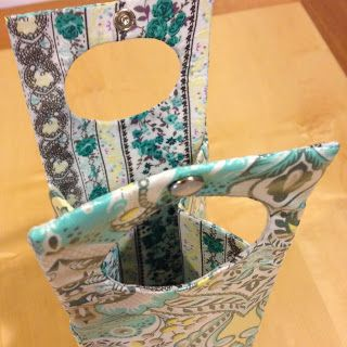 DIY Gift Bottle Carrier