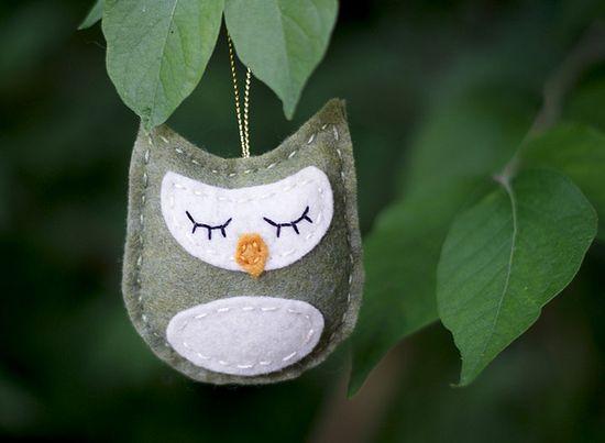 Simple, sweet owl